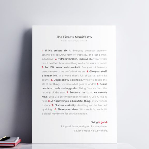 Fixer's Manifesto 2.0